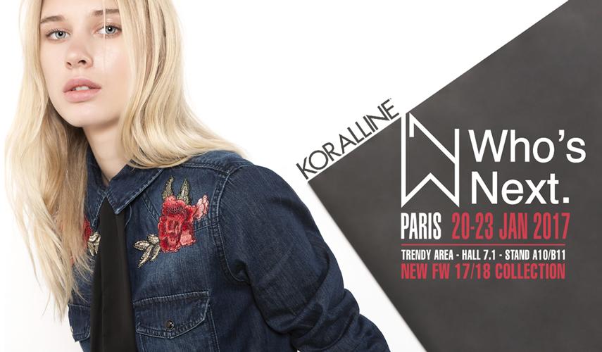 | KORALLINE | WHO'S NEXT PARIS