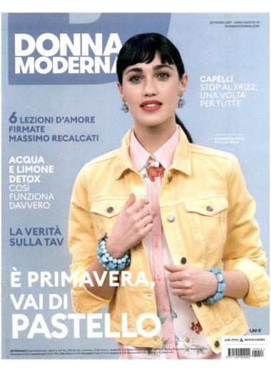 COVER Donna Moderna  20.03.2019