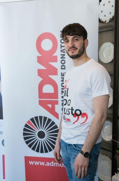 Admo – Press Lunch w/Giacomo Ferrara