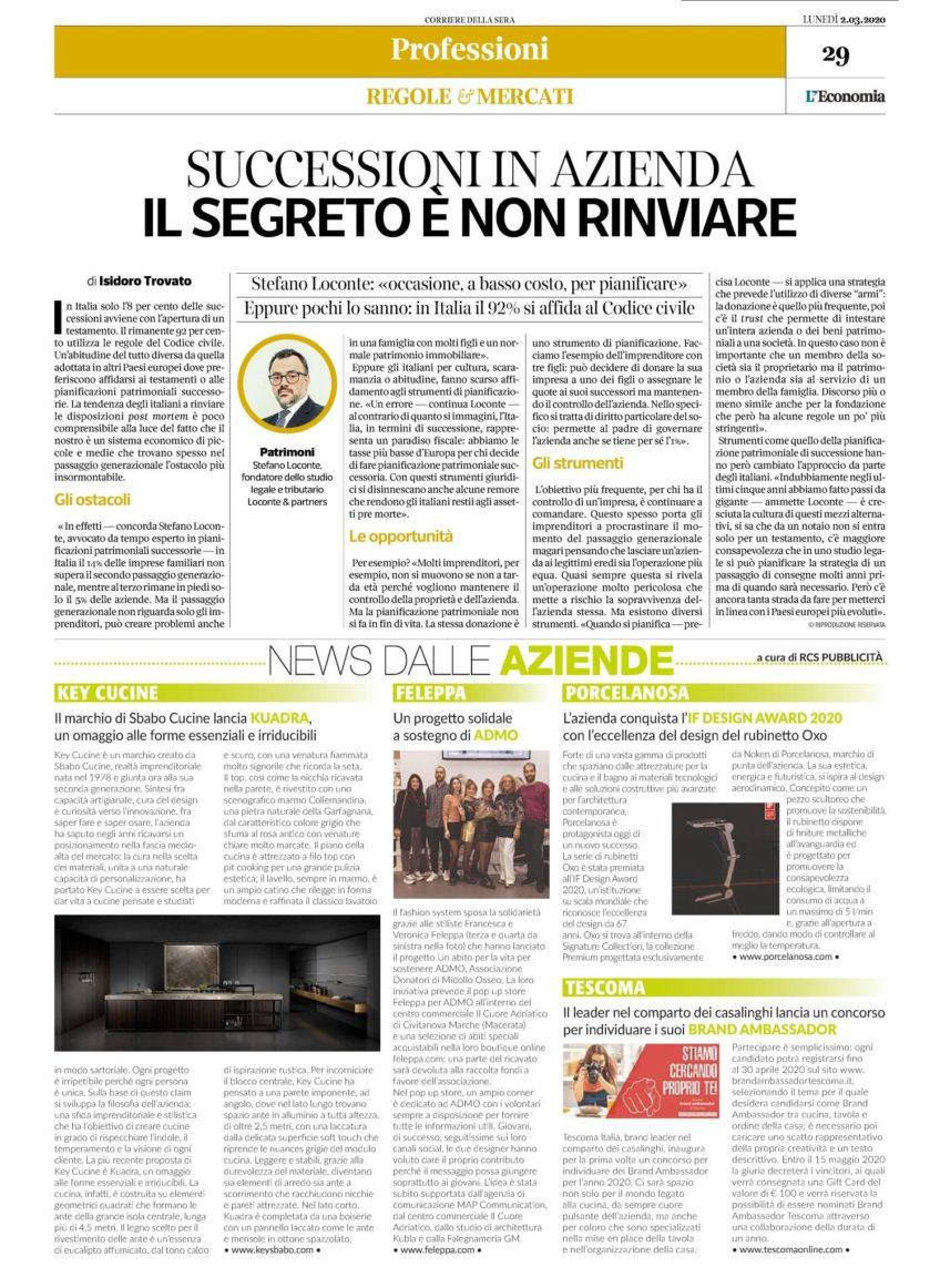 Corriere Della Sera 02.03.20