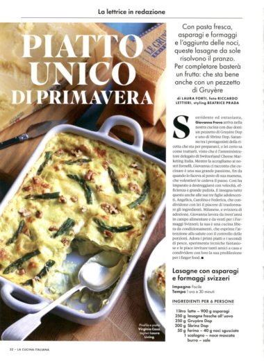 La Cucina Italiana 01.04.20