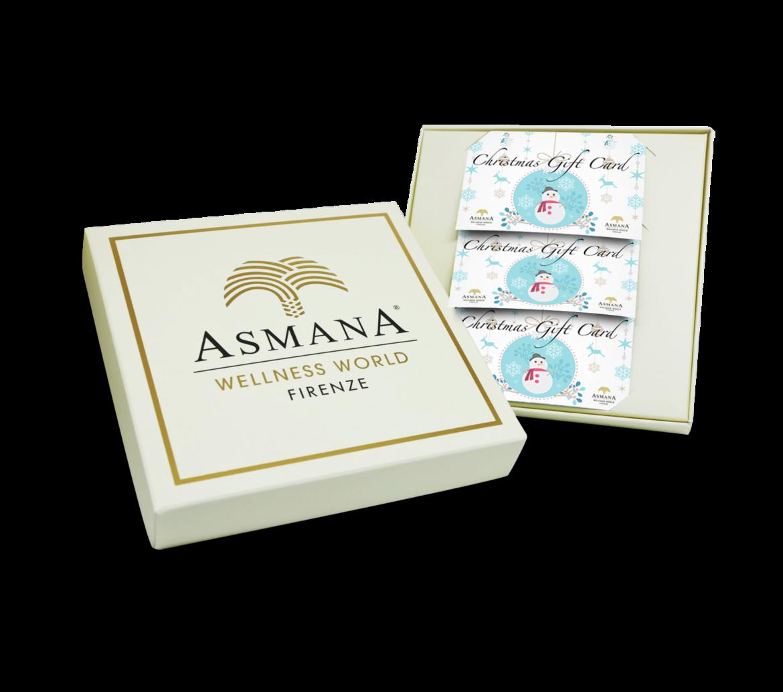 A natale regala il benessere con Asmana wellness world