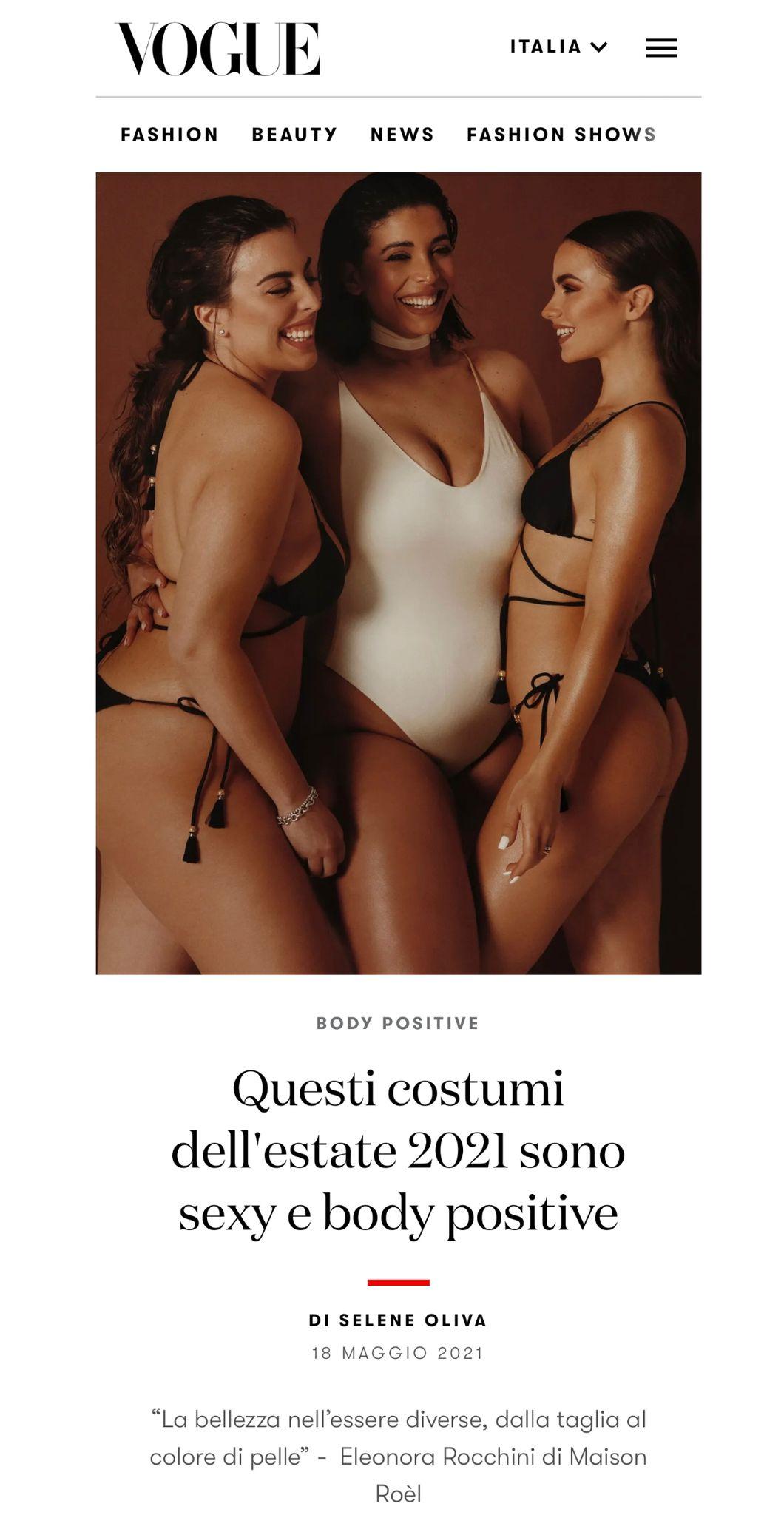 Vogue.it 18.05.2021